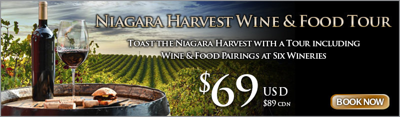 Niagara Harvest Wine Tour Package