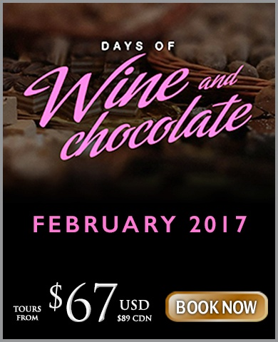 Wine and Chocolate Tour Package