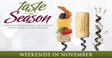 Taste the Season Wine & Culinary Tour