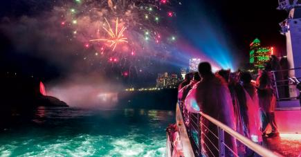 Niagara Evening Fireworks Cruise