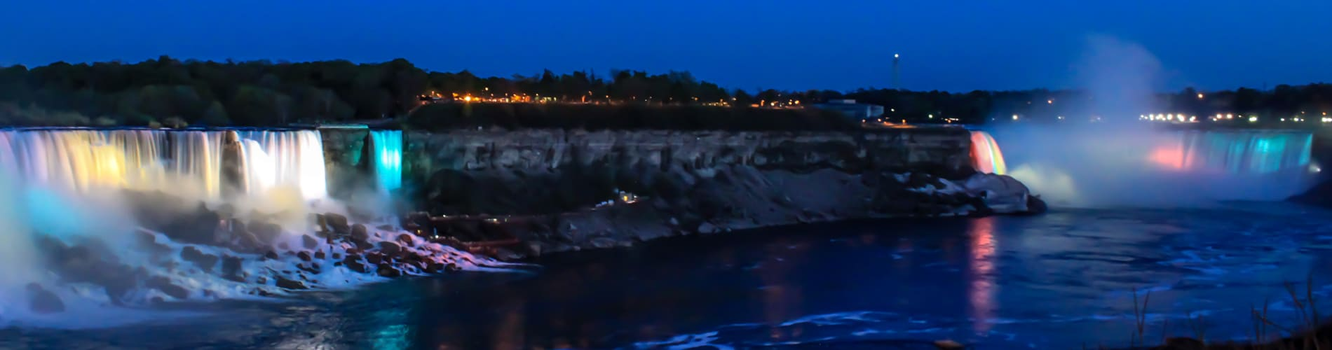 Niagara Falls Night Landscape