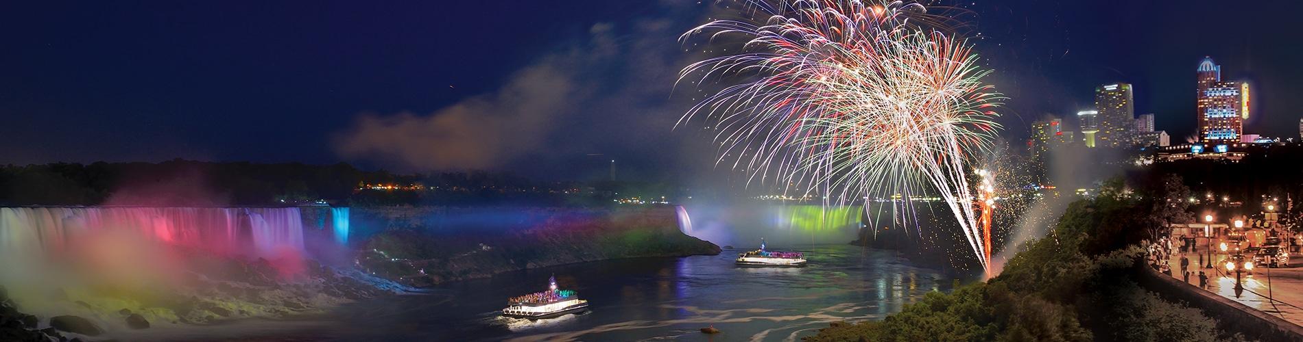 Hornblower Cruises Niagara Falls with Fireworks